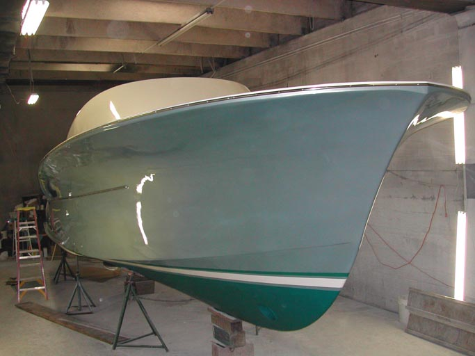 Bandy 35 paint shop