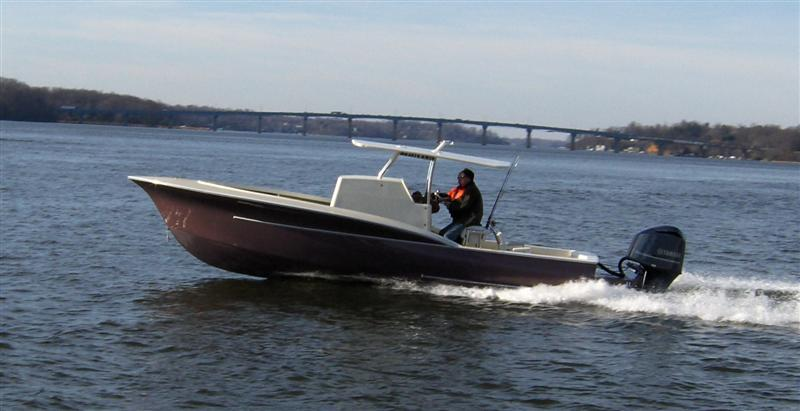 Bandy 27 center console
